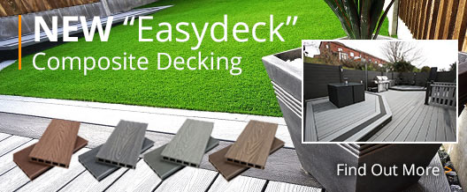 Composite Decking | Top Quality Artificial Grass Products | Easylawn